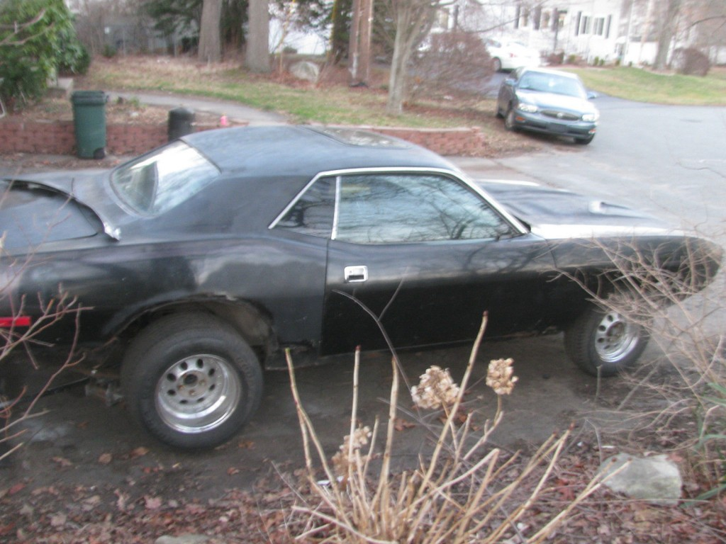 1973 Plymouth Barracuda project for sale