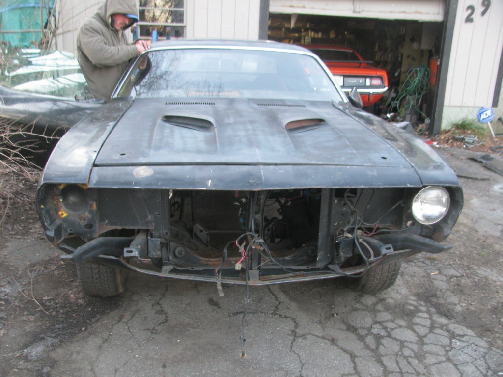 1973 Plymouth Barracuda project