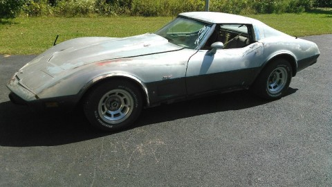 1977 Chevrolet Corvette project car for sale