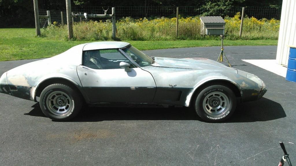 1977 Chevrolet Corvette project car