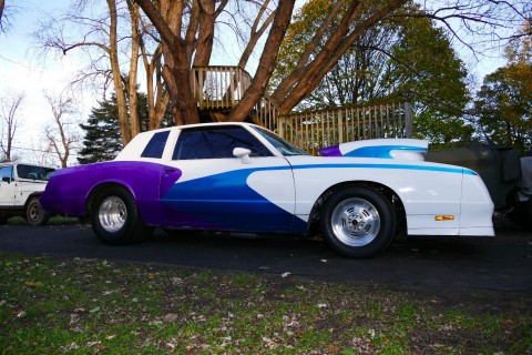 1981 Chevy Monte Carlo Pro Street Legal Fast & Loud Hot Rod Race Car Project for sale