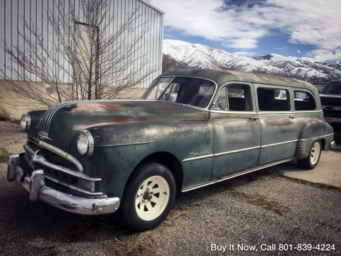 1949 Pontiac National Limosine/Hearse Chieftain Deluxe for sale