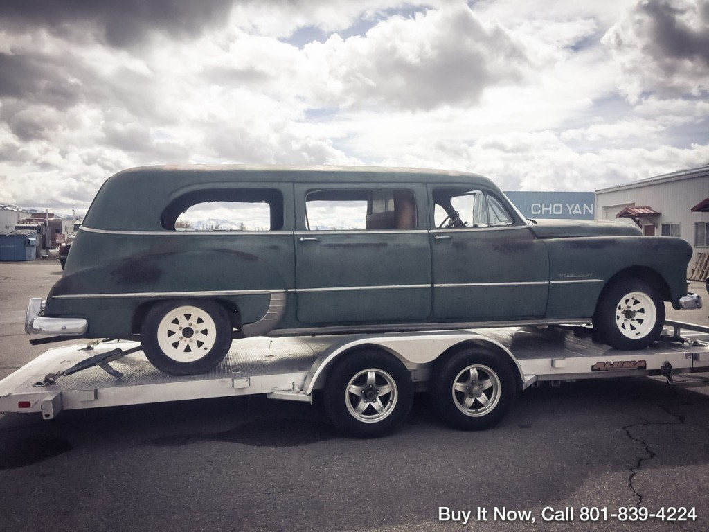 1949 Pontiac National Limosine Hearse Chieftain Deluxe For