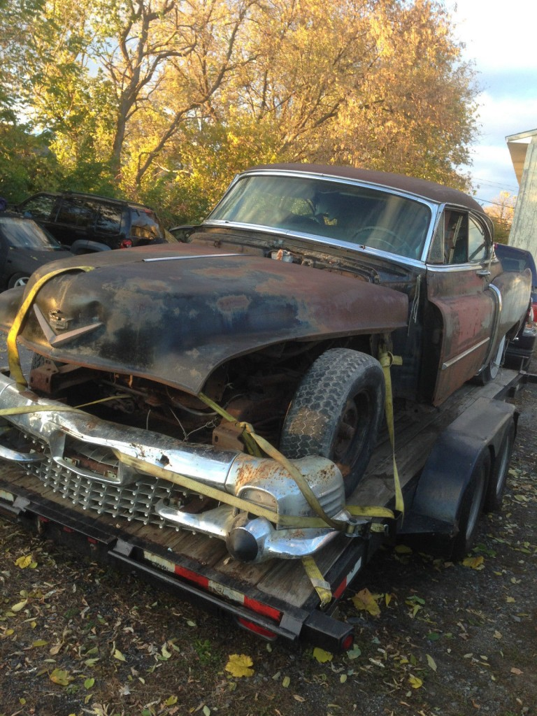 1953 Cadillac Coupe Deville Project For Sale
