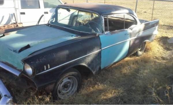 1957 Chevrolet Bel Air Hard Top Project