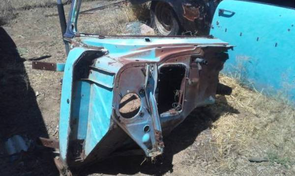 1957 Chevrolet Bel Air Hard Top Project