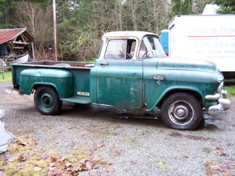 1957 GMC 150 Pickup Facory V/8 Automatic Project for sale
