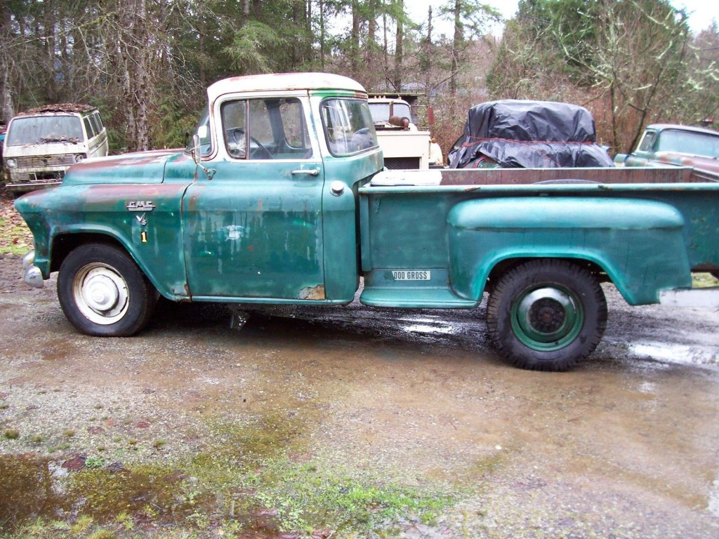 1957 GMC 150 Pickup Facory V/8 Automatic Project