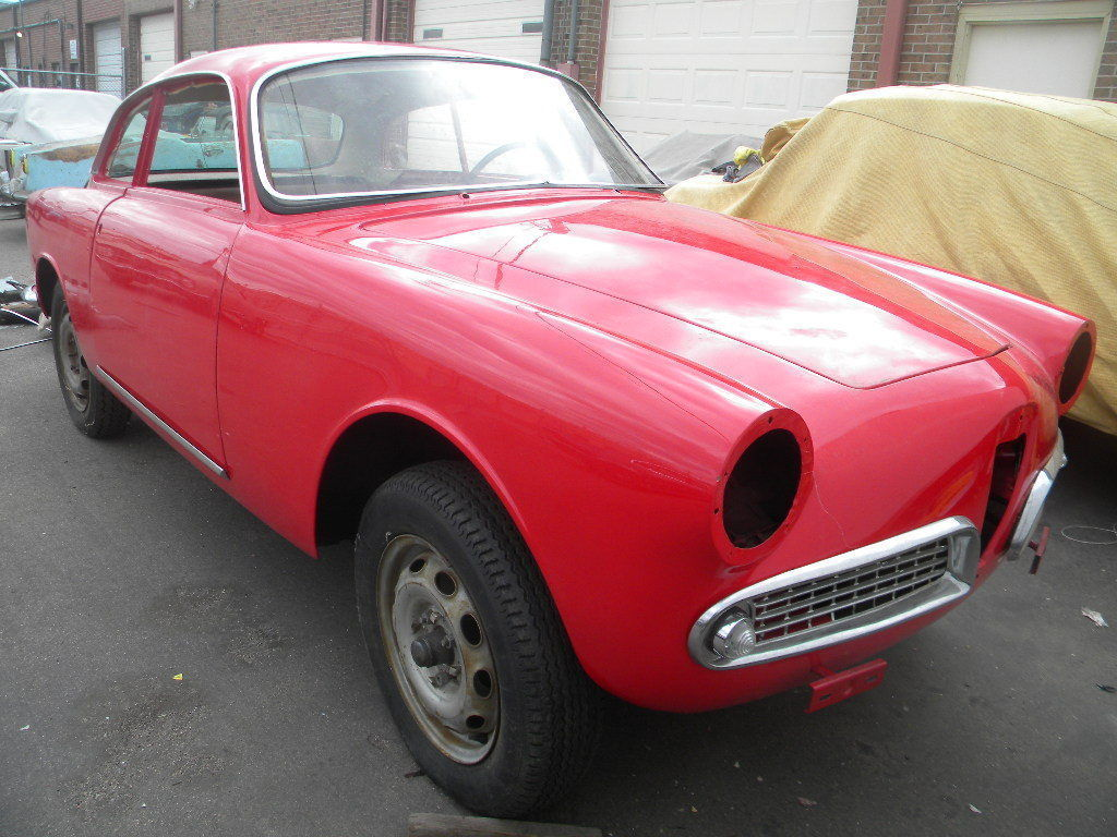 1960 alfa romeo sprint veloce project for sale. Black Bedroom Furniture Sets. Home Design Ideas