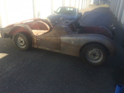 1961 Triumph TR3A project car for sale