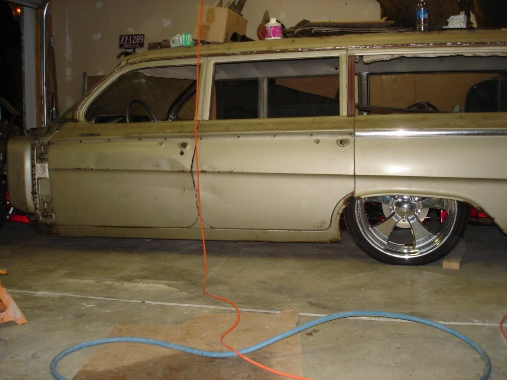 1962 Chevrolet Bel Air Wagon Project car