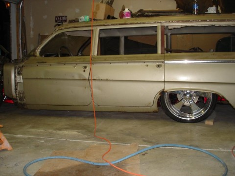 1962 Chevrolet Bel Air Wagon Project car for sale