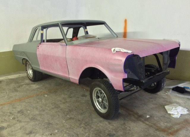 1963 Chevy Ii Gasser Project Car Nova For Sale