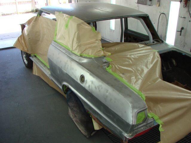 1963 Chevy II Gasser Project Car (Nova)