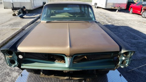 1963 Pontiac Catalina Safari Wagon Project for sale