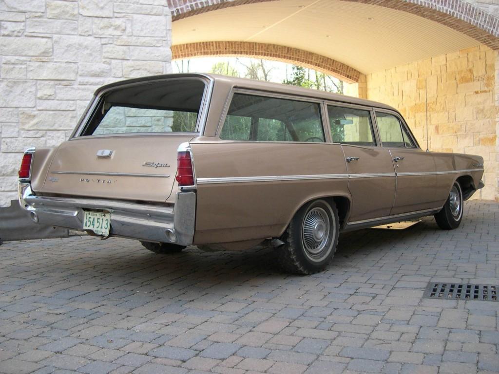 1963 Pontiac Catalina Safari Wagon Project for sale