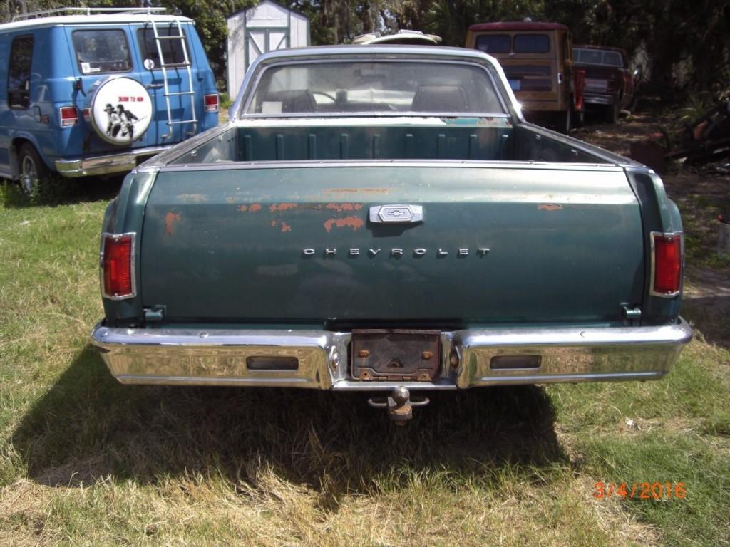 1965 Chevrolet El Camino Project Car