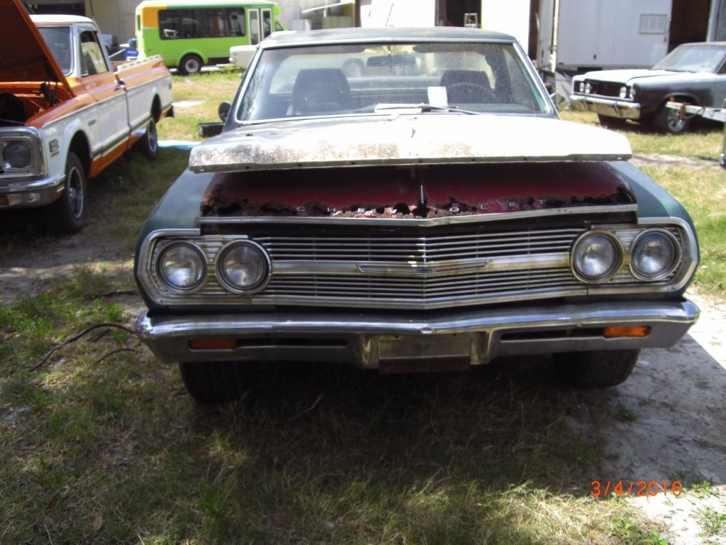 1965 Chevrolet El Camino Project Car For Sale