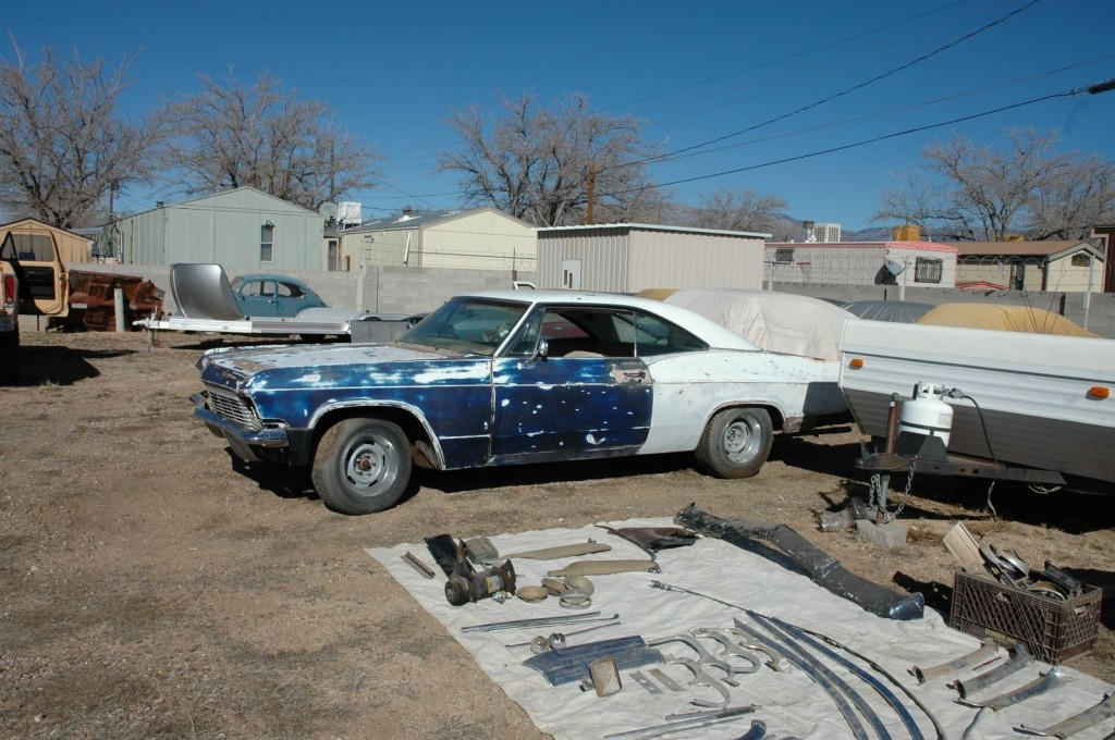 1965 Chevrolet Impala SS Project Car