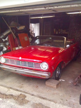 1965 Dodge Dart GT Convertible nice project for sale
