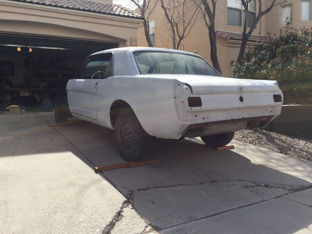 1965 Ford Mustang Pro Touring Project TCI Suspension