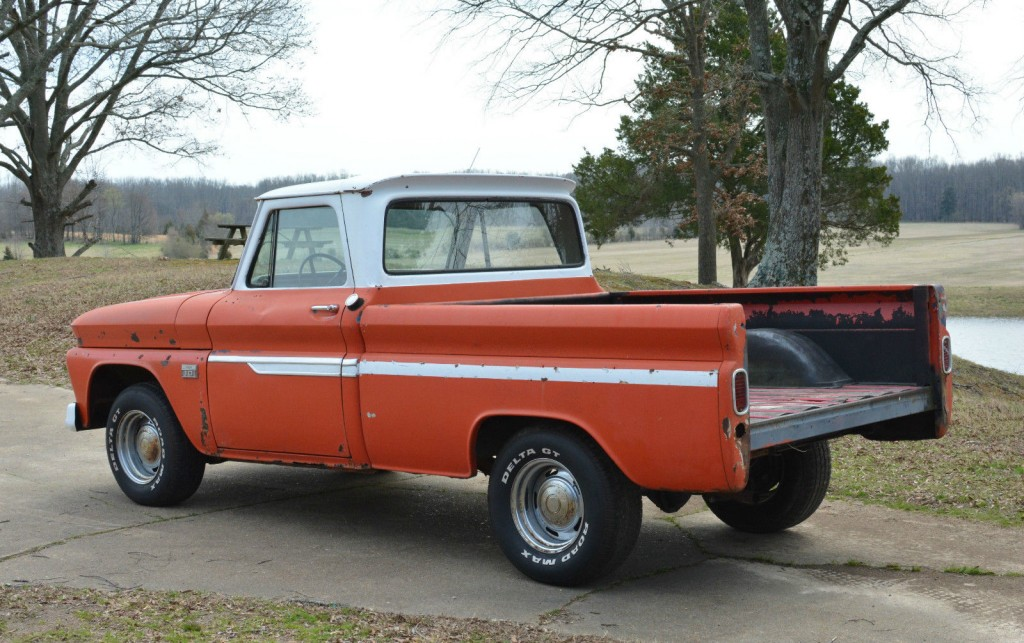 1963 Chevy Truck For Sale >> 1966 Chevrolet C10 SWB Fleetside Custom Cab Pickup Truck Project for sale