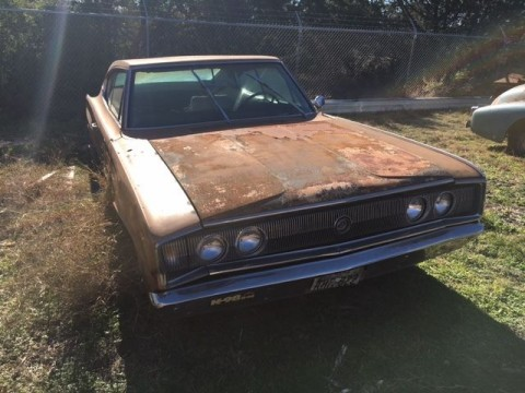 1966 Dodge Charger project for sale