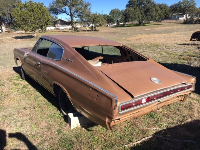 1966 Dodge Charger project