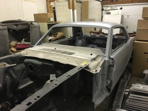 1966 Ford Mustang GT Coupe Restoration Project for sale
