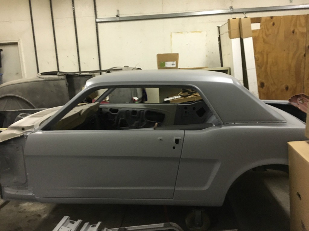 1966 Ford Mustang GT Coupe Restoration Project