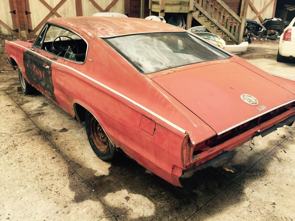1970 Dodge Charger Rt Project Car Overall Solid Car For Sale: 1967 Dodge Charger 383 Body For Sale