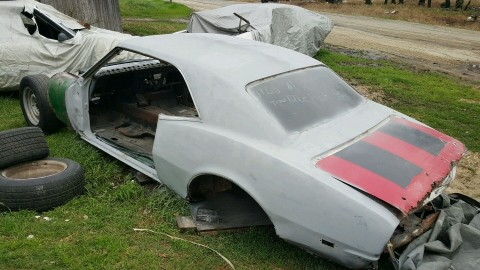 1968 Chevrolet Camaro project for sale