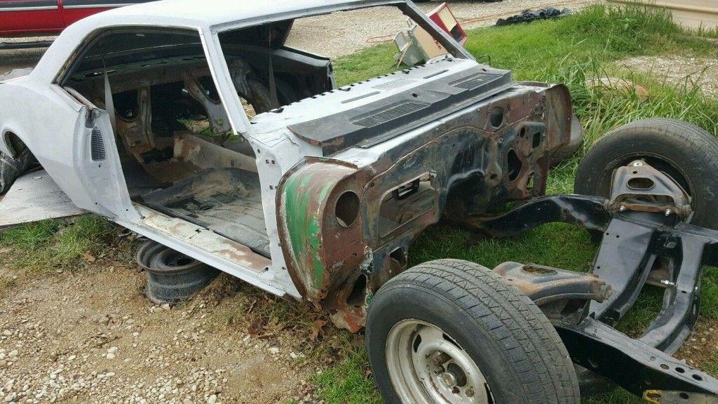 1968 Chevrolet Camaro project