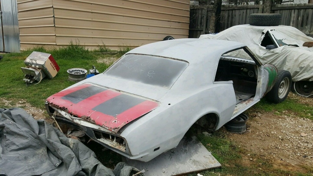 1968 Chevrolet Camaro project