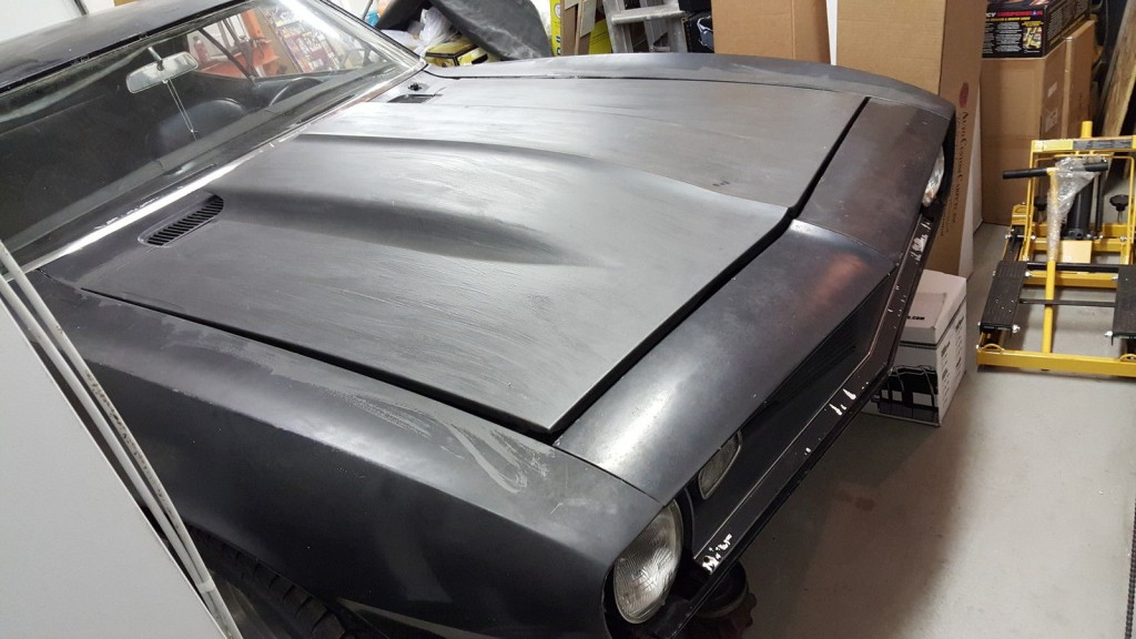 1968 Chevrolet Camaro v8 327 high performance project