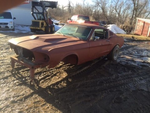 1968 Ford Mustang Fastback Project Coupe Conversion for sale