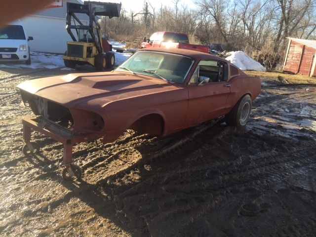 1968 Ford Mustang Fastback Project Coupe Conversion