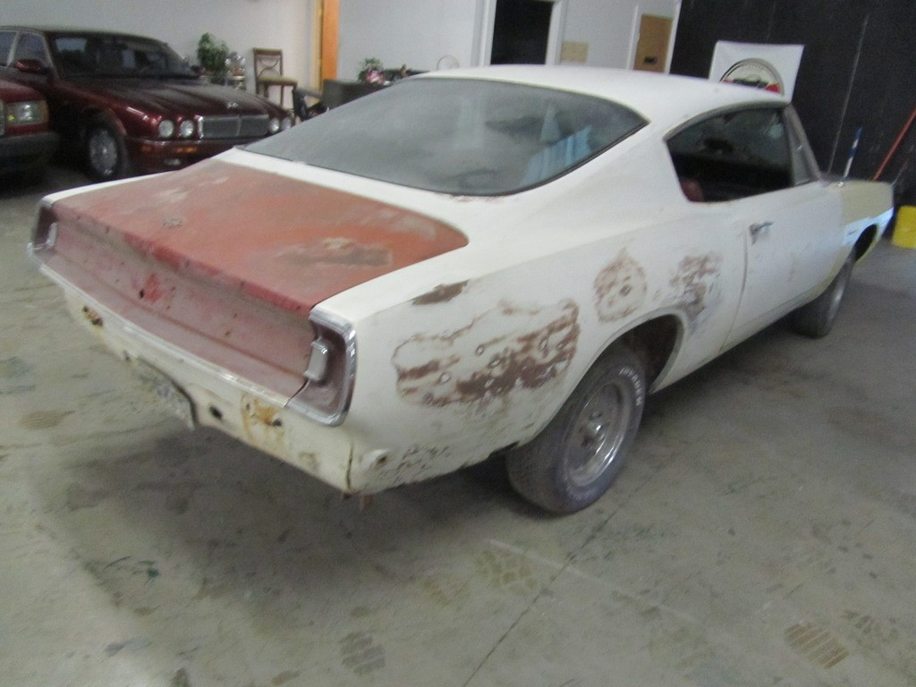 1968 plymouth barracuda project for sale. Black Bedroom Furniture Sets. Home Design Ideas