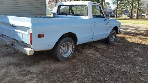 1969 Chevrolet c10 project for sale