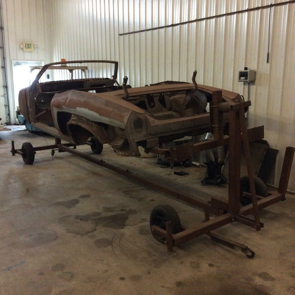 1969 Chevrolet Chevelle SS Convertible Project