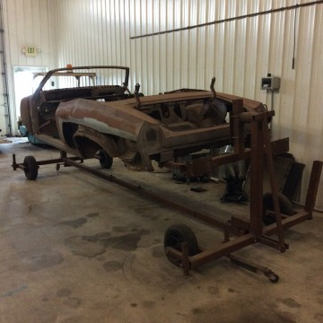 1969 Chevrolet Chevelle SS Convertible Project for sale