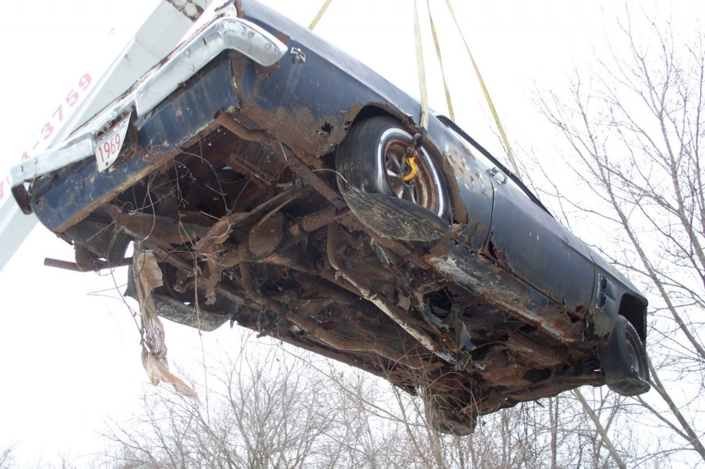 1969 Pontiac Firebird Trans AM   Project