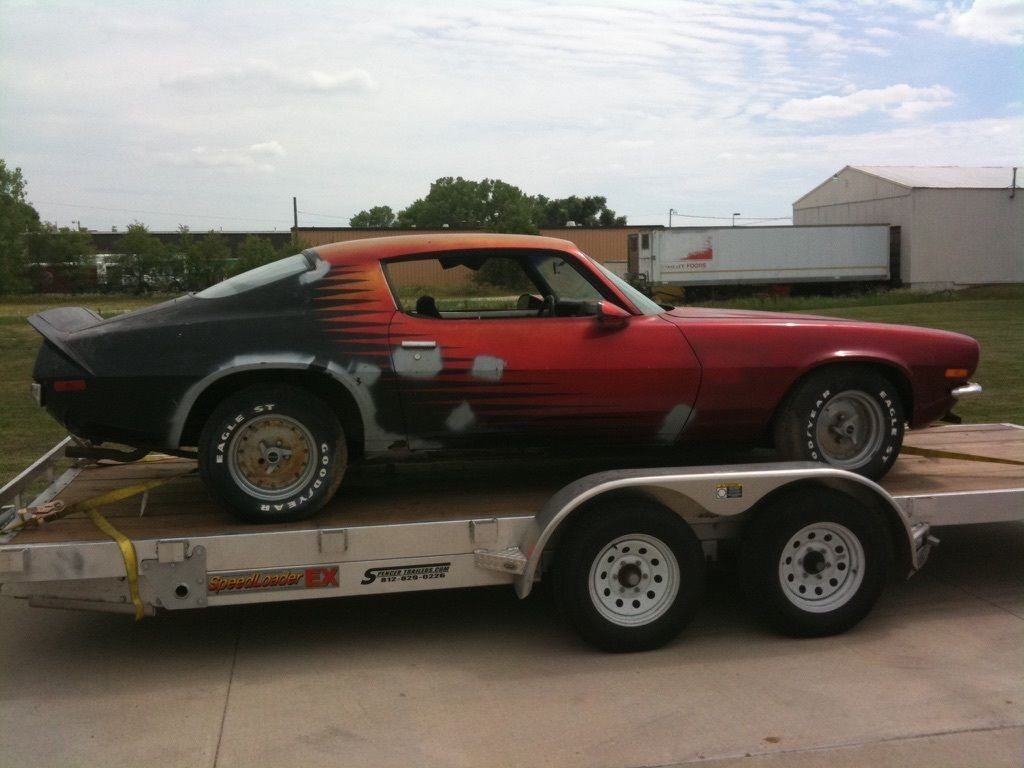 1970 1 2 Chevrolet Camaro Project Car For Sale