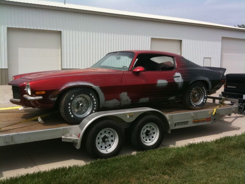 1970 1/2 Chevrolet Camaro Project car