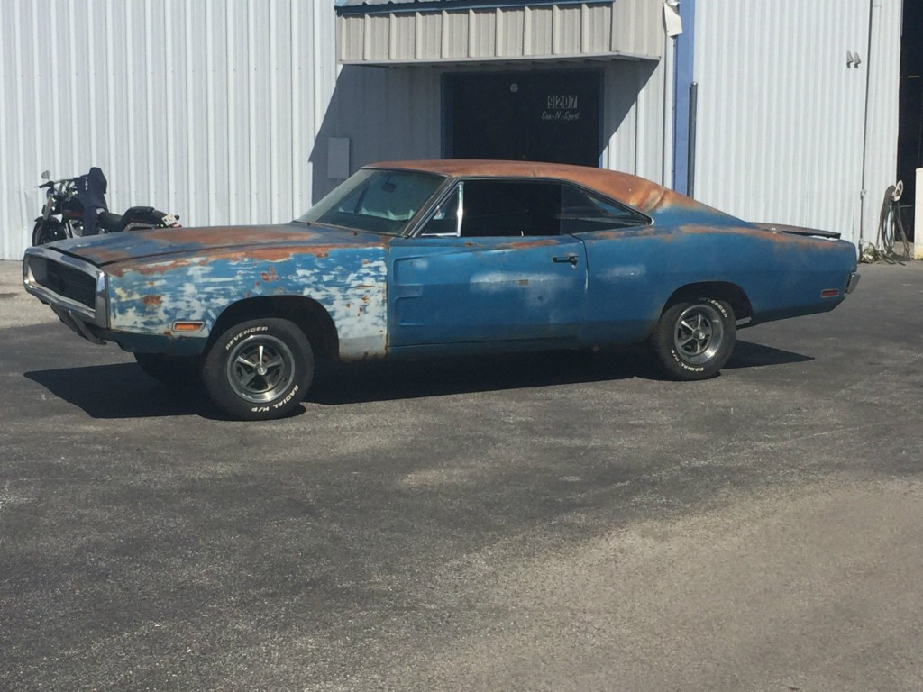 1970 Dodge Charger RT Project Car Overall Solid Car