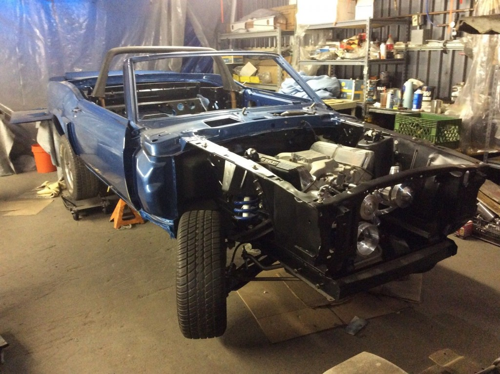 1970 Shelby Mustang Gt 500 Convertible Project 428 Cobra jet
