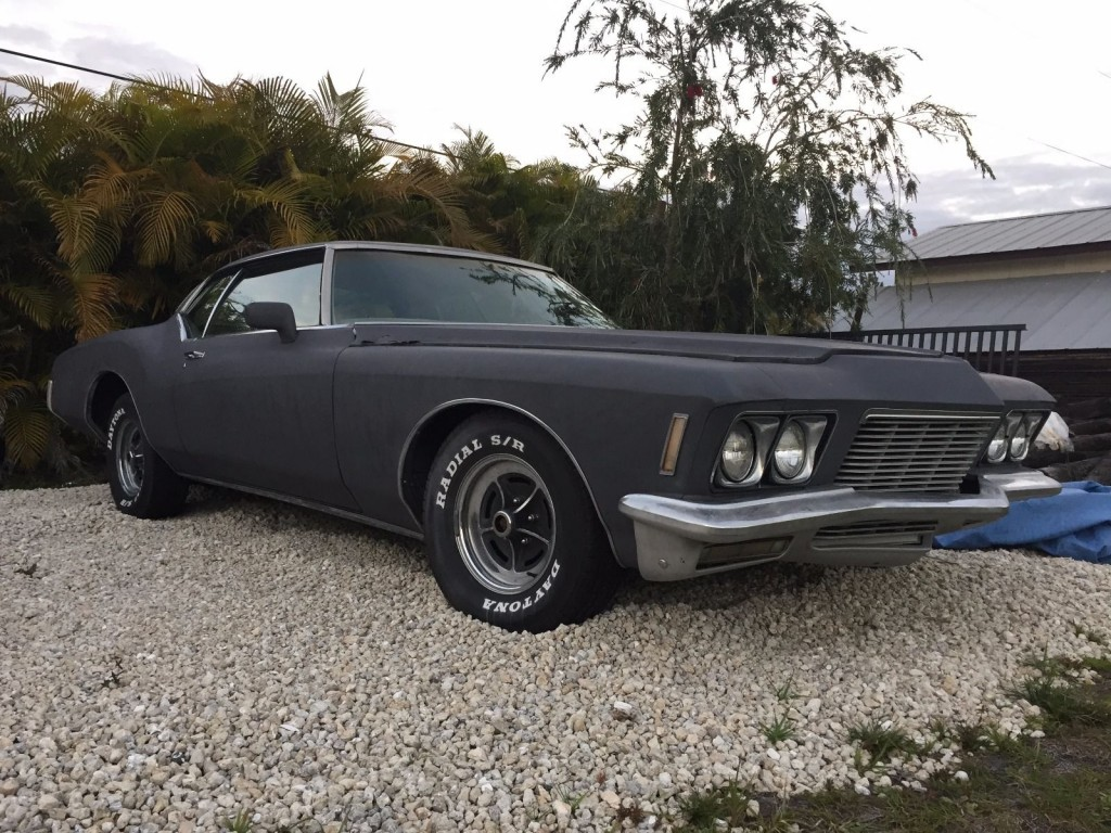 1971 Buick Riviera Boat Tail Project Car For Sale