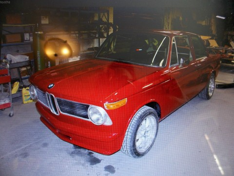 1972 BMW 2002 TII Roundie, Sunroof, 5 Speed, Runs and Drives, Project for sale