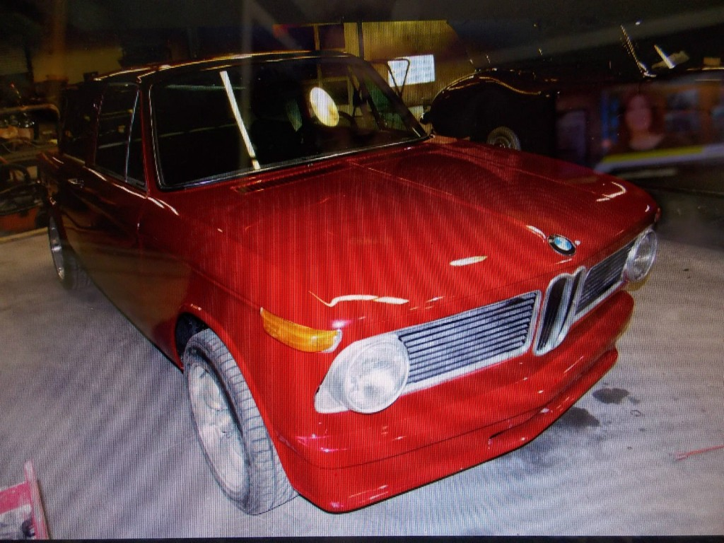 1972 BMW 2002 TII Roundie, Sunroof, 5 Speed, Runs and Drives, Project