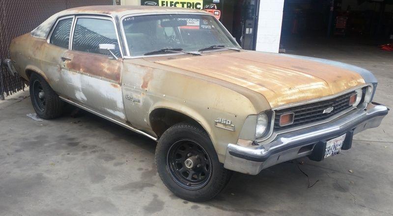 Chevrolet Nova Custom Restoration Project For Sale